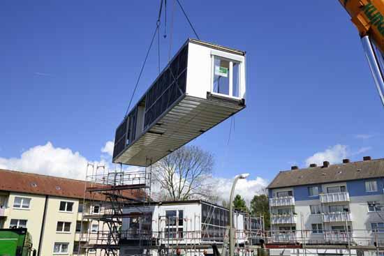 Rathaus will Schulanbau aus Holz Modulen errichten