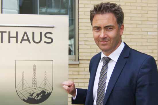 Der Bürgermeister der Stadt Königs wusterhausen: Swen Ennullt (Foto:mwBild)