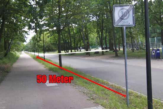 Posse um Tempo 30 in August – Bebel – Straße