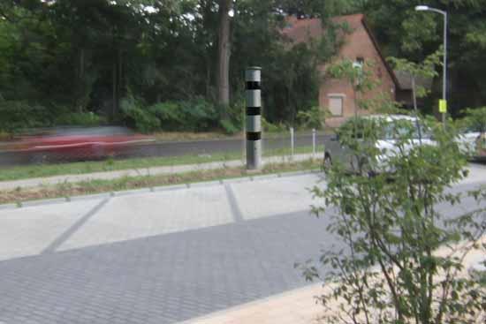 Blitzersäule: Standort an Kita Ritterschlag ist nicht sicher
