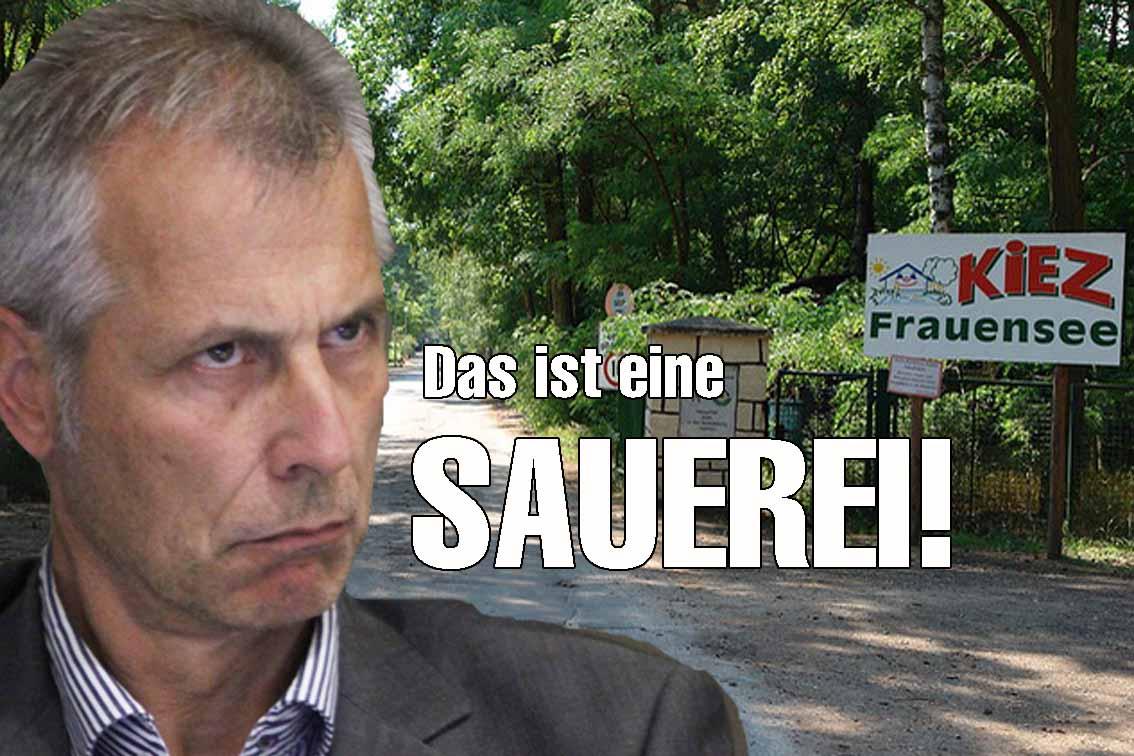 Auch die SPD/ CDU - Regierung in Potsdam lehnte den Erstattungsantrag ab.