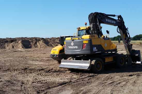 Die Arbeiten auf dem Areal der künftigen Rettungswache haben begonnen. (Foto:mwBild)