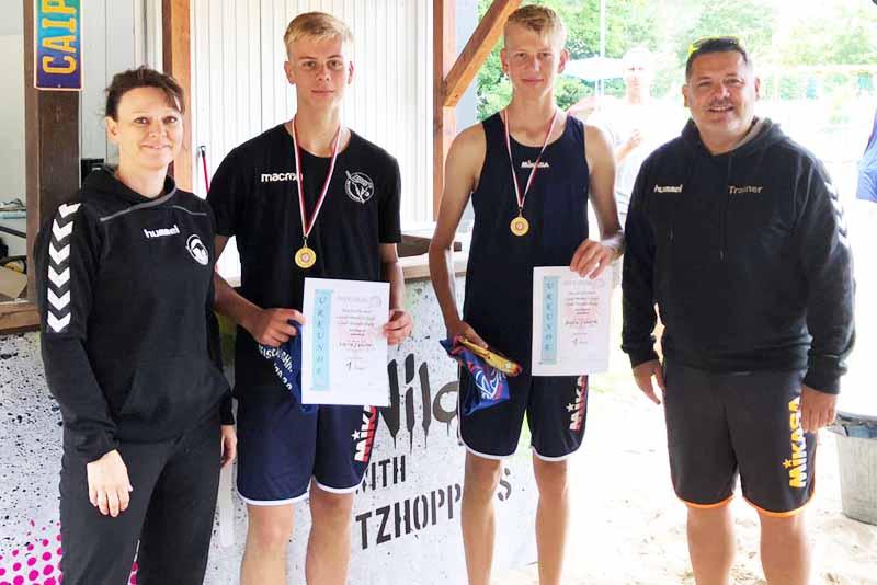 Beach – Volleyball – Meisterschaften an der Elbe – Schulzendorfer sind dabei!