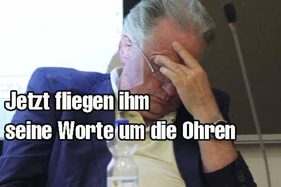 Der CDU-Wendehals-Politiker: Erst wollte er, jetzt nicht mehr!