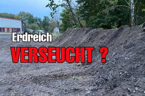 Gift-Areal in Wildau? – Umweltamt ermittelt.