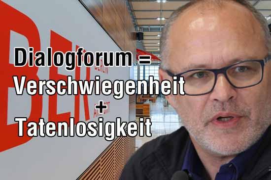 Im Bild: Andreas Körner. Ob es Sinn macht im Dialogforum mitzuwirken, darüber gehen die Meinungen auseinander. (Foto:mwBild/Bliefert)