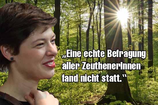 Die Fraktionschefin der Grünen moniert unzureichende Bürgerbeteiligung in der Standortfrage. (Foto: mwBild/Bliefert)
