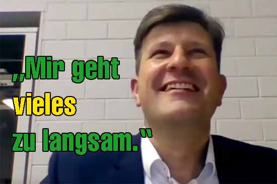Exklusiv: Jonas Reif im Schulzendorfer-Kreuzverhör