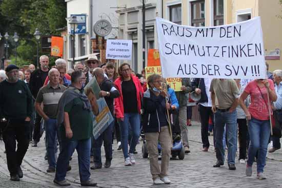 Demonstration Königs Wusterhausen