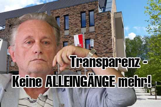 Die Einzelentscheidungen von Joachim Kolberg zu Fragen der Öffentlichkeit von Sitzungen sind problematisch. (Foto: mwBild)