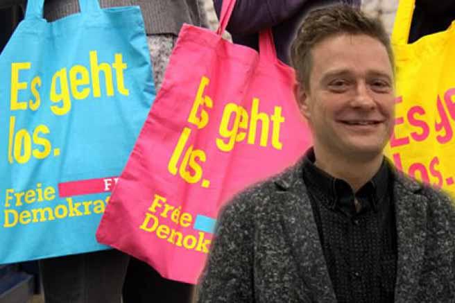 Bundestagswahl: FDP schickt Lars Hartfelder ins Rennen