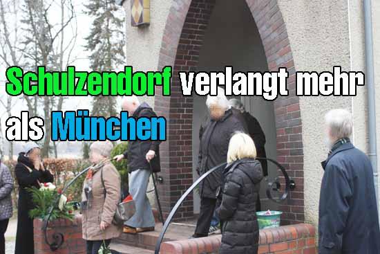 Sterben in Schulzendorf könnte bald richtig teuer werden. (Foto: mwBild)
