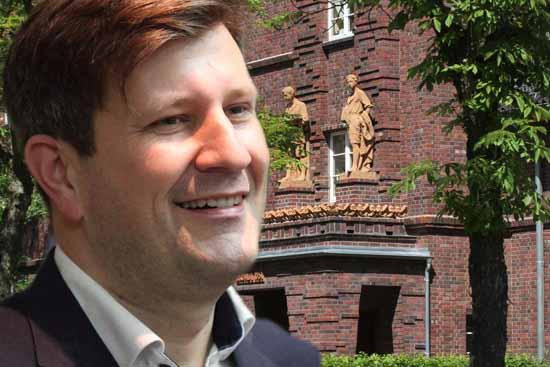 Prof. Jonas Reif war bis Ende 2020 Chef des Zeuthener Gemeinderates (Foto:mwBild)