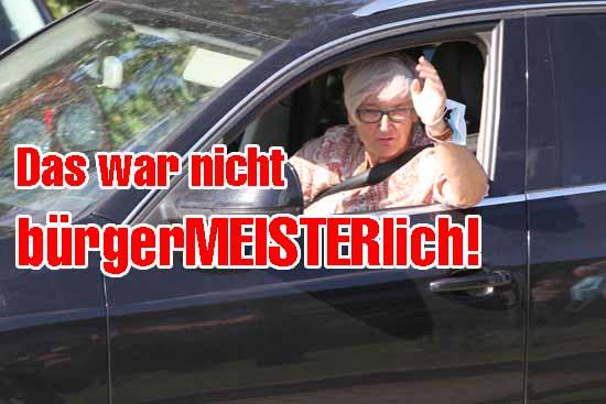 Wird Michaela Wiezorek am 4.Juli als neues Stadtoberhaupt ihren Anhängern zuwinken können? (Foto:mwBild)