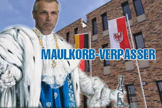 Die Gutsherrenart von Bürgermeister Mücke stößt auf immer mehr Kritik. (Bildmontage: mwBild)
