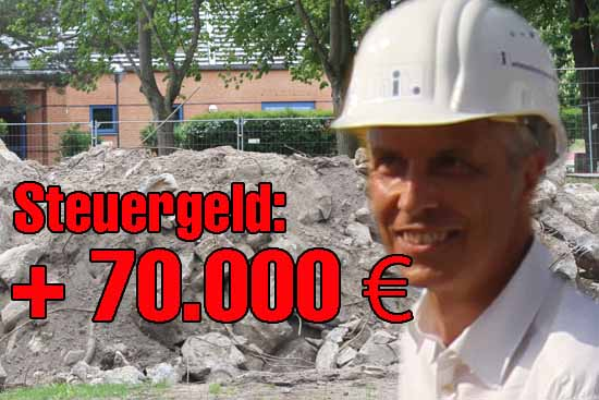 Rathaus: Schon wieder KostenEXPLOSION bei Bauprojekt