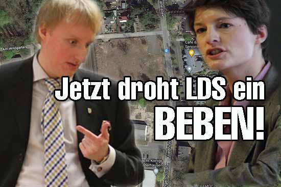 Mauschelei in Wildau und Lübben? – Politiker verlangen Aufklärung von Landrat Loge (SPD)