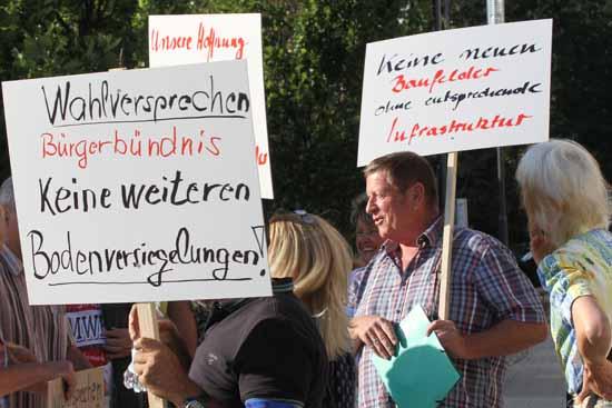 Teilnehmer der Demonstration im September 2019 (Foto: Archiv/mwBild)