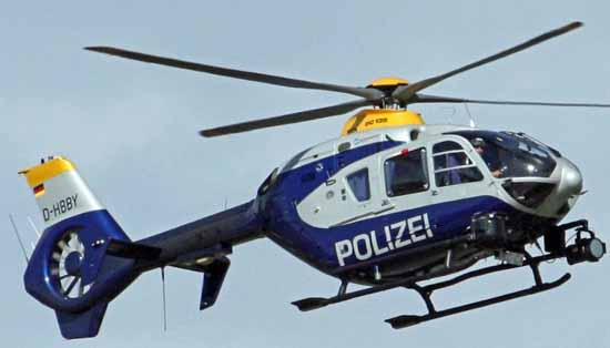 Nach Waldbrand: Adebar 16 kreist über Zeuthen und Miersdorf