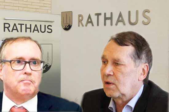 Unter Beschuss: Stefan Ludwig und Lutz Franzke (Foto:mwBild)