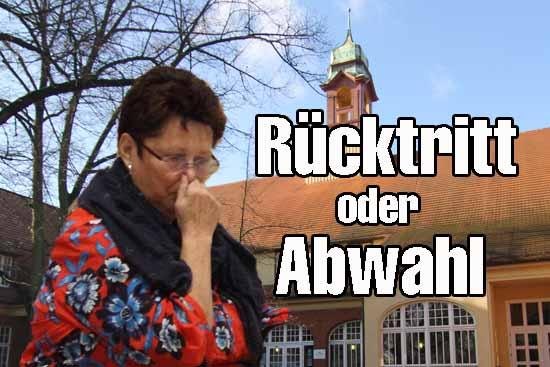 Frau Homuth, legen Sie unverzüglich alle Ämter nieder!
