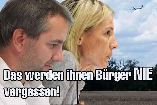 Dr.Tim Kolbe (SPD) und Ramona Brühl zeigten klare Kante. (Foto: mwBild)