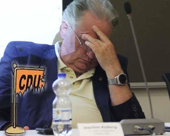 Die Tage von Joachim Kolberg im CDU-Kreisvorstand sind gezählt. (Foto: mwBild)