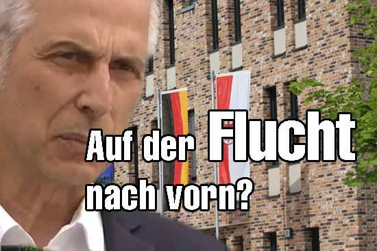 Steht massiv unter Druck: Bürgermeister Msrkus Mücke.