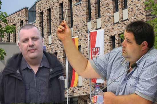 Eiko Hildebrandt und Torsten Keller werden künftig in der Politik mitmischen. (Foto: mwBild)